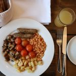 vegan, green comfort food, vegan english breakfast