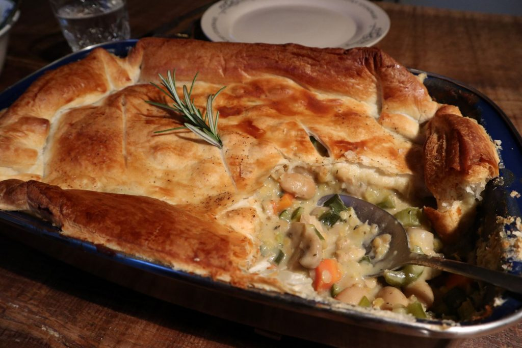 vegan, green comfort food, vegan pie, vegan comfort food
