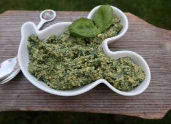Vegan pesto (broodjes)