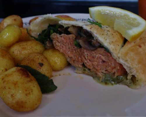 Vegan Salmon Wellington