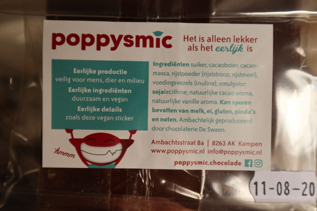 vegan, green comfort food, poppysmic, vegan chocolade, vegan kinder chocolade