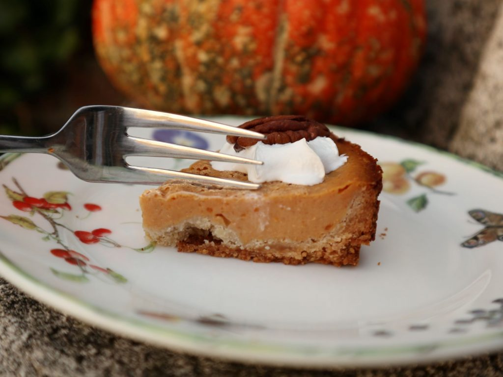 vegan, green comfort food, vegan pompoen taart, vegan pumpkin pies
