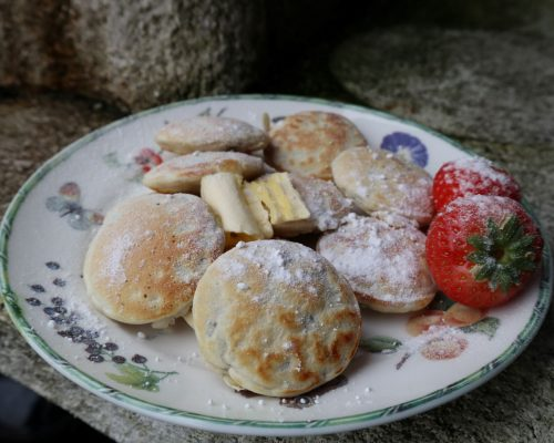 Vegan Poffertjes