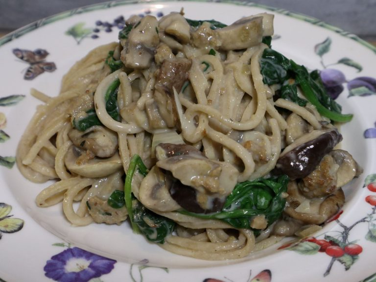 vegan, green comfort food, vegan pasta recept